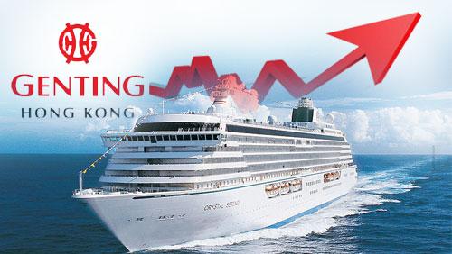 Norwegian cruise line stake sale boosts Genting Hong Kong H1 profit