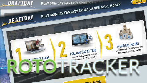 RotoTracker, the leading DFS bankroll & analytics tool now supports DraftDay