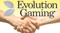 Evolution Gaming has very busy week