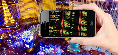 Nevada casino gaming revenue falls despite record sports betting handle