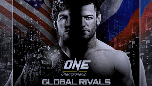 Nine Bouts Announced For One: Global Rivals In Manila