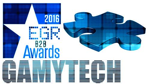 GamyTech Nominated in Three Categories in EGR B2B Awards