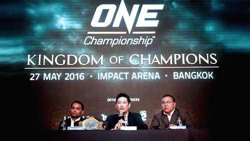ONE Championship Holds First Event in Bangkok on 27 May at Impact Arena