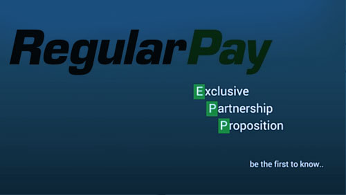 RegularPay company announced an exclusive partnership proposition