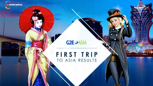 Endorphina Strong Debut at G2E Asia