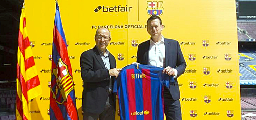 Betfair ink FC Barcelona deal as betting sites scramble for football sponsorships