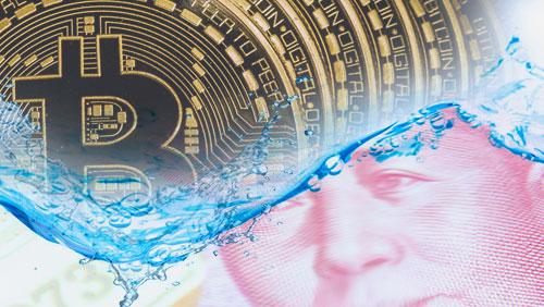 Bitcoin price sails as China's yuan sinks