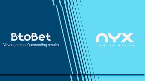 BtoBet Announce Partnership with NYX Gaming Group