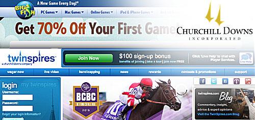 Churchill Downs hits revenue record despite social casino slump