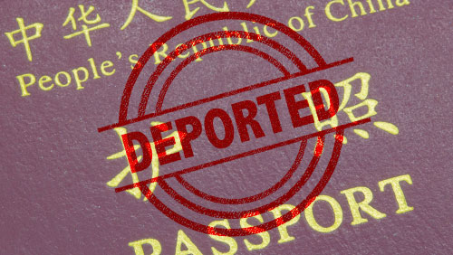 1,318 Chinese in online gambling to be deported
