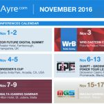 CalvinAyre.com featured conferences & events: November 2016