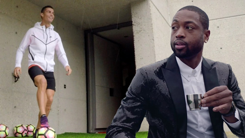 Cristiano Ronaldo and Dwyane Wade bring Pokerstars #raiseit campaign to an end in spectacular style
