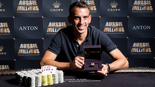 Event sixteen recap – 2017 Aussie Millions Poker Championship