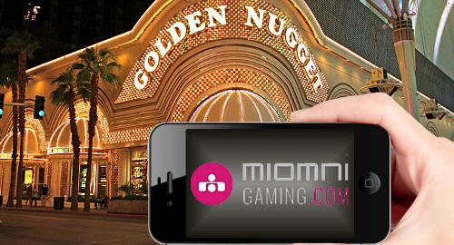 Golden Nugget Las Vegas launch Miomni-powered sports bet app
