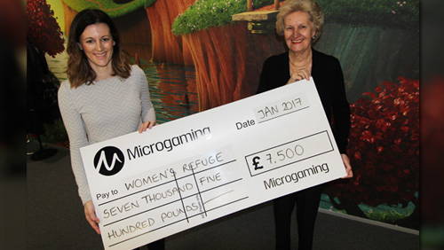 Microgaming's Gift of Giving presents four charities with donations