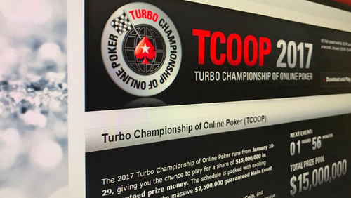 Pokerstars TCOOP glory up for grabs with player of the series leader board competition