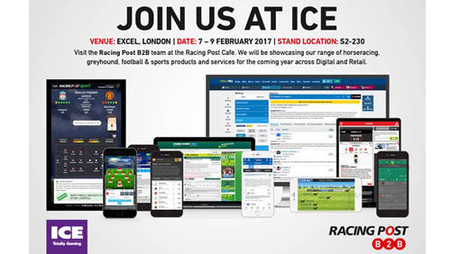 Racing Post set to showcase innovation and opportunity at gaming's favourite exhibition