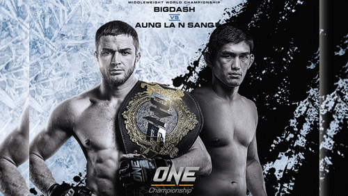 Vitaly Bigdash to defend one middleweight world championship against Aung La N Sang