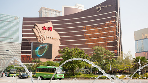 Wynn Palace has yet to avail itself of 25 extra gambling tables