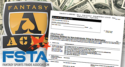 Fantasy Aces files for bankruptcy protection, players high and dry
