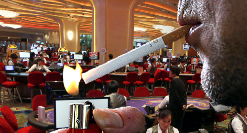 Study says Macau casino workers okay with smoking lounges