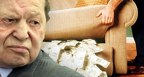 Sheldon Adelson loses $622m, likely under the sofa cushions