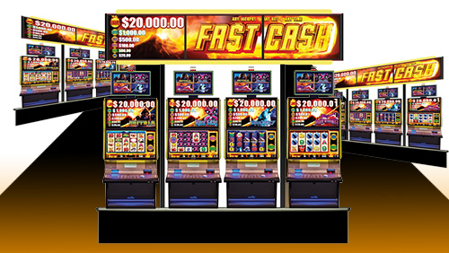 Aristocrat's Fast Cash jackpot hits for $175,574.28 at Route 66 Casino Hotel