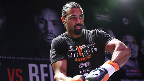 EnergyBet partners with David Haye for the big fight