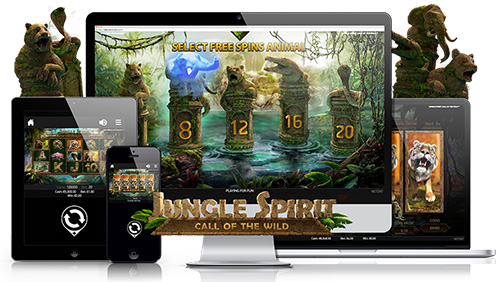 NetEnt serves up a feast for the senses with Jungle Spirit: Call of the Wild