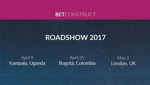 BetConstruct roadshow 2017: Next stops are Kampala, Bogota and London
