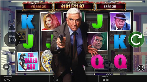 """Blueprint Gaming launches slot game based on Paramount Pictures' """"Naked Gun"""""""