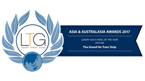 The Grand Ho Tram strip takes out luxury Golf Hotel of the year
