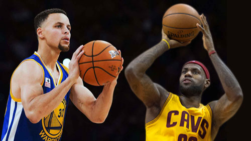 Warriors tip off as favorites against Cavaliers in 2017 NBA finals