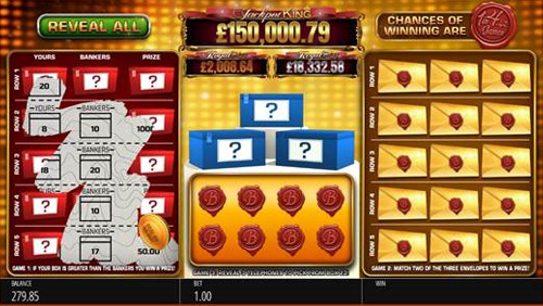Blueprint Gaming expands Jackpot King family with Deal or No Deal Scratchcard