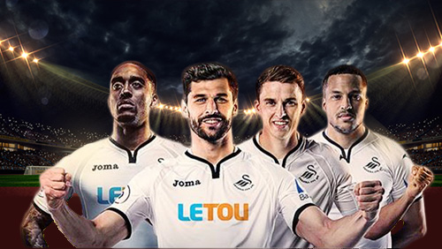 LeTou's shirt sponsorship deal with Swansea City to benefit local charities