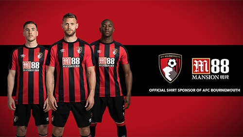 M88 announce partnership with AFC Bournemouth as official shirt sponsor