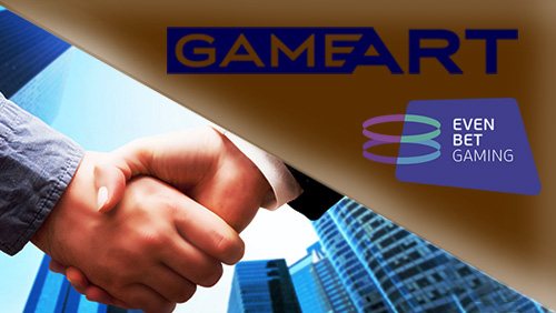 GameArt to supply EvenBet Gaming Games Content