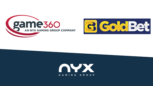 GoldBet grows content offering with NYX Gaming Group after integration to NYX OGS