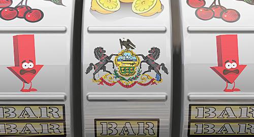 Pennsylvania slot revenue decline good for online gambling push?