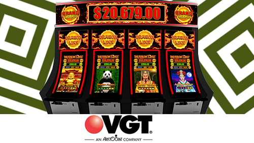 VGT and Aristocrat charge into Oklahoma Indian Gaming Show with custom content, innovative cabinets, leading licensed products