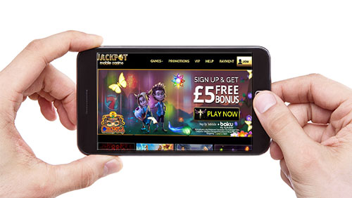 Jackpot Mobile Casino releases its Android app on Google Play Store