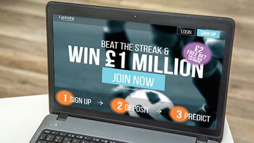 "i-pools launches £1million ""Beat the Streak"" Jackpot games"