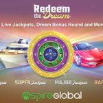 "Redeem the Dream""  – Aspire Global to launch proprietary progressive jackpot title"