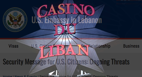 US Embassy warns staff to steer clear of Beirut's Casino du Liban