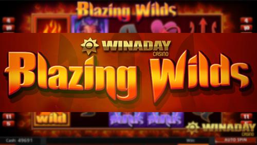 WinADay Casino launches devilish new Blazing Wilds Slot with $13 freebie