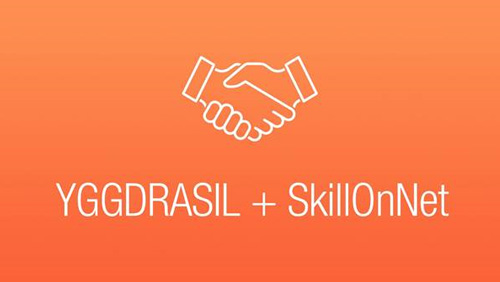Yggdrasil signs SkillOnNet deal