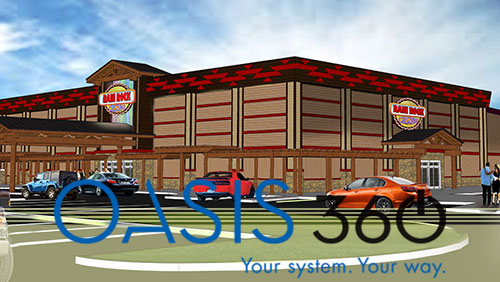 Aristocrat to install Oasis 360™ System at new Rain Rock Casino