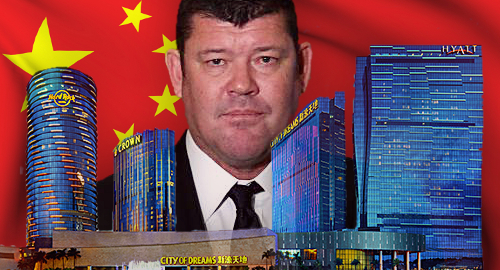 Crown Resorts says China staff arrests forced hand on Macau exit