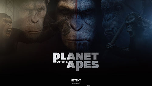 NetEnt demonstrates its premium trademark with the release of Planet of the Apes video slot game