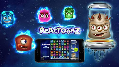 Play'n GO into space with new slot Reactoonz